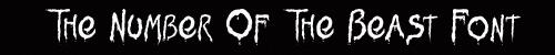 Iron Maiden fonts
